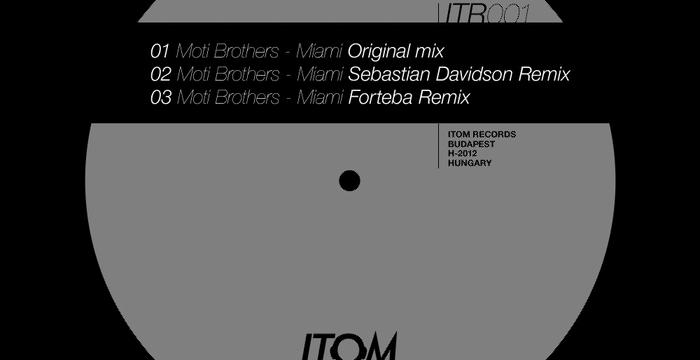 [Release] Moti Brothers, Remixes From Forteba & Sebastian Davidson – Miami EP (Itom Records)