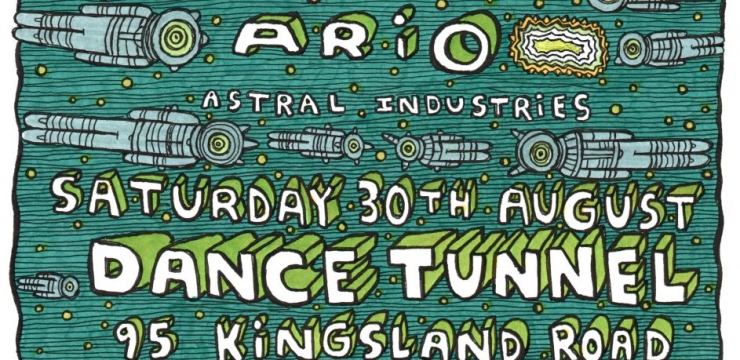[Event] Deepchord and Ario Live at Astral Industries, London – 30.08.14