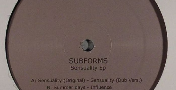 [Release] Subforms – Sensuality EP (Bio Recordings 003)