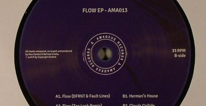[Deep House Vinyl] Dfrnt – Flow EP (Amadeus 013)