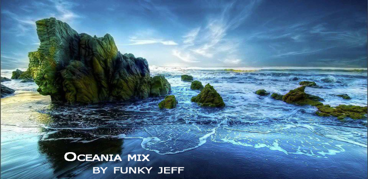 Oceania mix : ambient oceanic waves